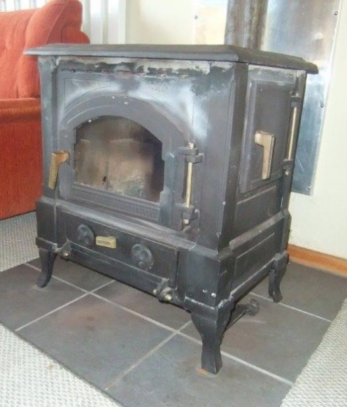 Over fired stove
