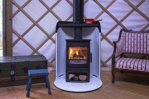 Charnwood Aire 3 Pod in Yurt